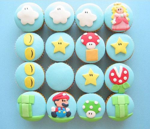 Mario cupcakes!