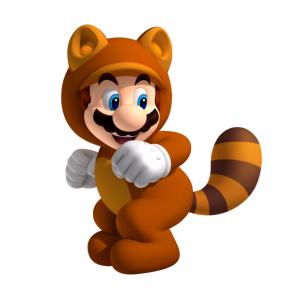 Tanooki Suit in Super Mario 3D Land